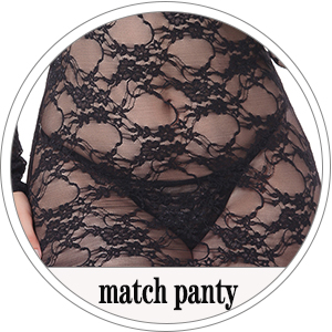 lingerie match with panty