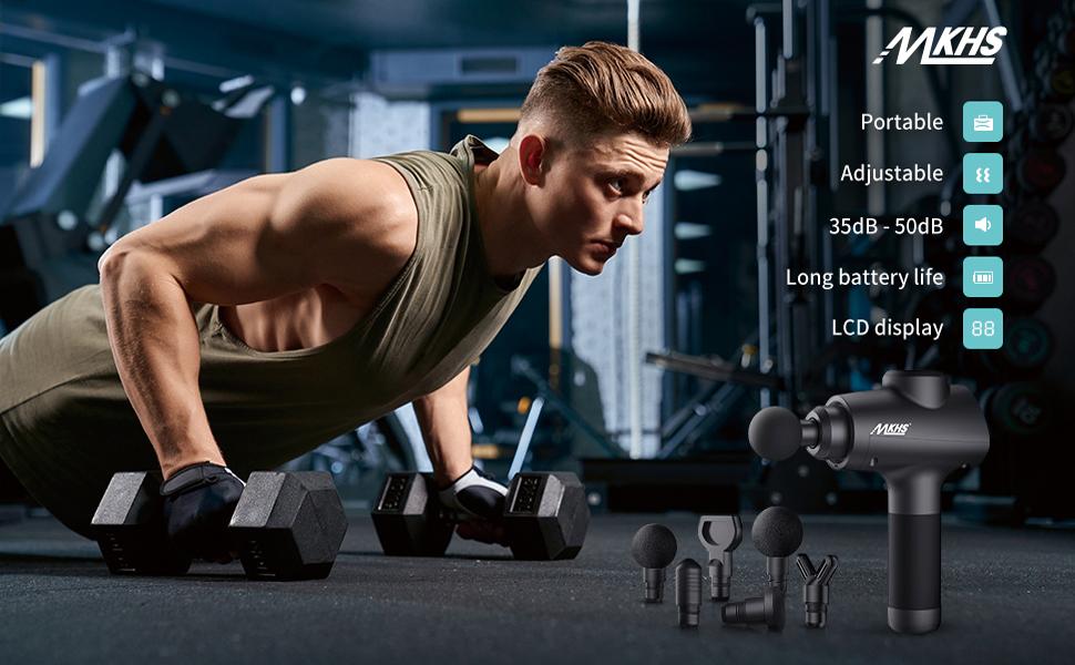 muscle massage gun deep tissue - MKHS
