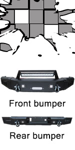 2017 Chevy 3500 bumper