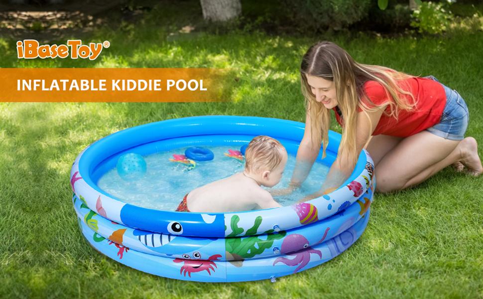 Inflatable Kiddie Swimming Pool