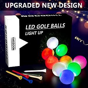 Glow LED Golf Balls