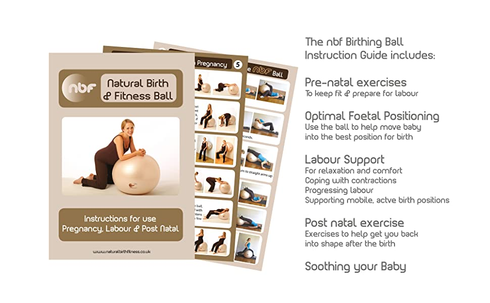 pregnancy and labour exercise leaflet