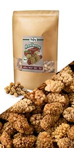 witte moerbeien aardbeien bessen gedroogd geheel fruit ongezoet geen suiker suikervrij zonder zwavel