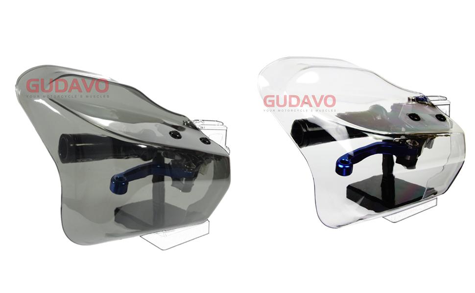 Motorcycle 1 Pair Adjustable Handguards