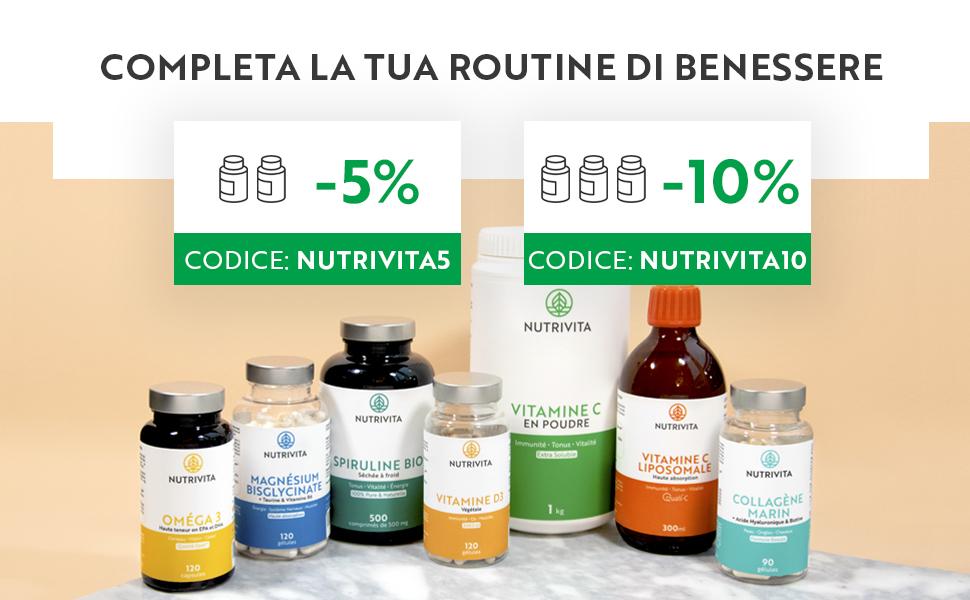 bienfaits vitamine c poudre acide ascorbique complements alimentaires nutrivita