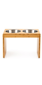large elevated pet feeder, raised dog bowls for large dogs