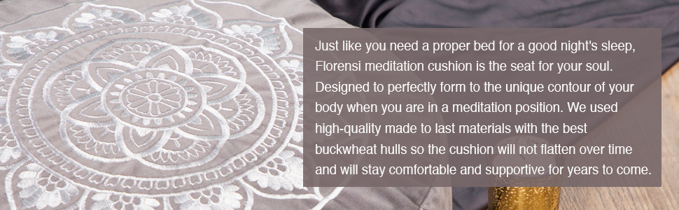 Florensi Meditation Cushion