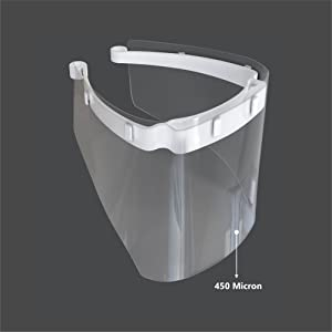 450 Micron Face Shield for Doctors