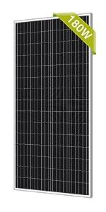 newpowa 180w solar panel solar kit solar application