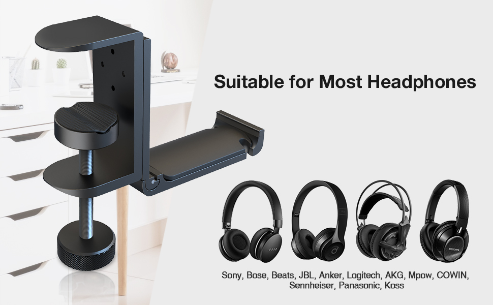 Suitable for Most Headphones
