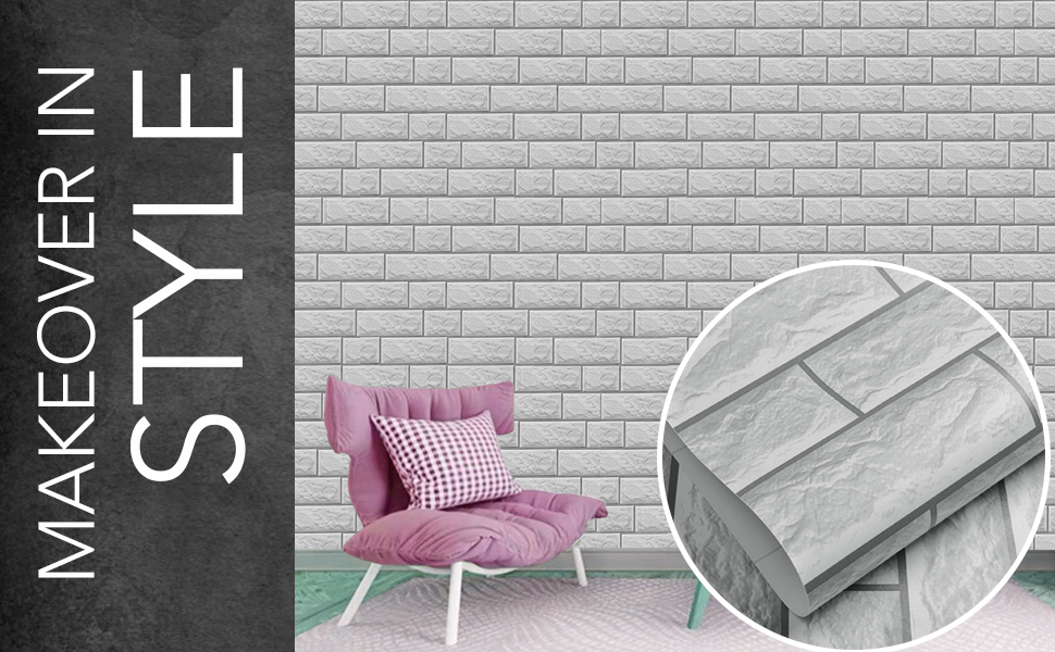 wall stickers wallpapers for wall, decals, 3D brick, DIY, self adhesive, waterproof