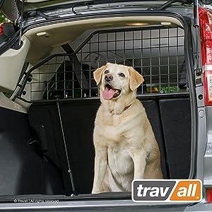 Travall Guard Hundegitter Tdg1075 Maßgeschneidertes Trenngitter In Original Qualität Auto