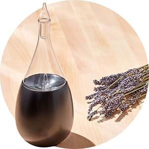 organic aromas raindrop nebulizing diffuser