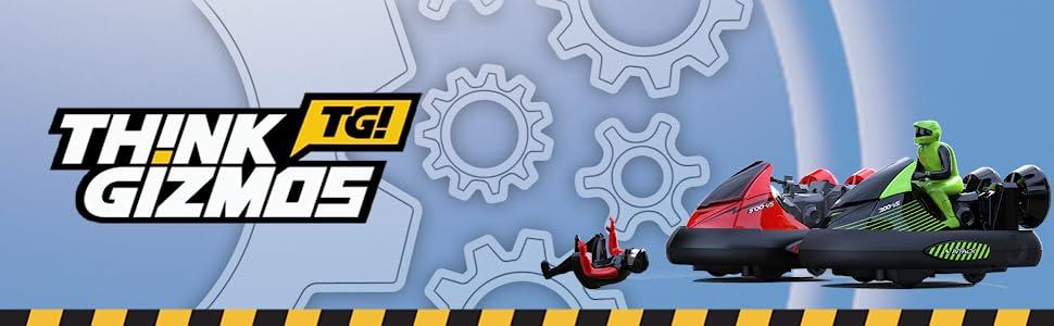 TG637 - Remote Control Bumper Cars Toy