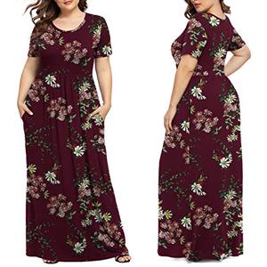 pus size maxi dress