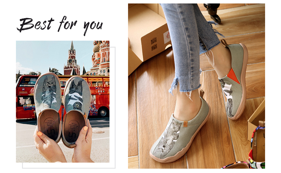 uin canvas shoes