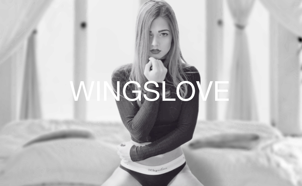 Wingslove Donna Cotone Pullover Reggiseno Bralette Reggiseni Basic Top