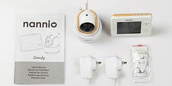 baby monitor AU plug nannio care