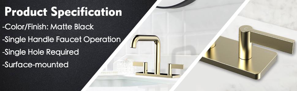 brushed gold faucet bathroom