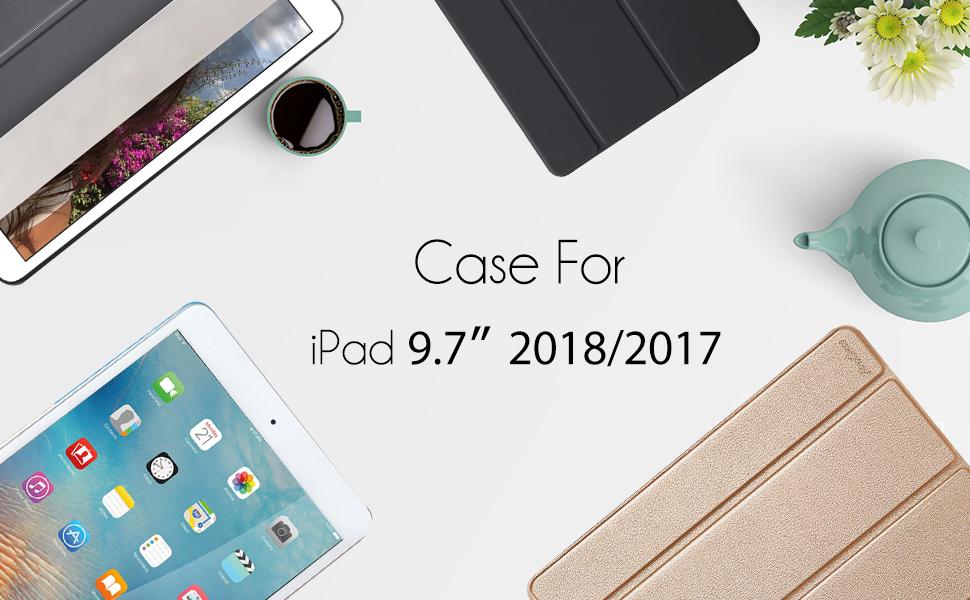 ipad 9.7 case slim 2018 2017