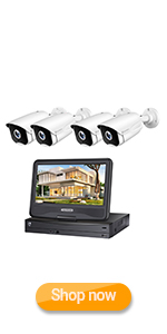 Flashandfocus.com 1391725e-05d7-4b08-a0b0-ebca86b75721.__CR0,0,150,300_PT0_SX150_V1___ HeimVision HM241A Wireless Security Camera System with 1TB Hard Drive, 8 Channel NVR 4Pcs 1080P Home WiFi Security…