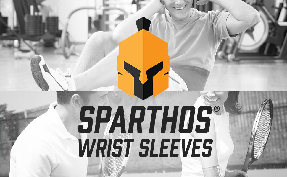 We created the Sparthos Wrist Compression Sleeves for perfect amount of wrist support