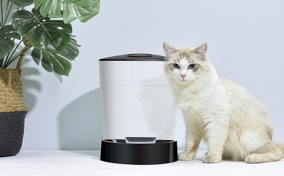 ELSPET 4L Automatic Cat Feeder