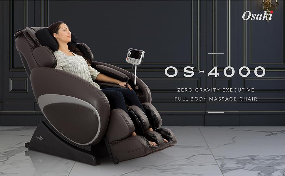 Osaki OS-4000 Full body massage chairs FDA Body relax Recliner