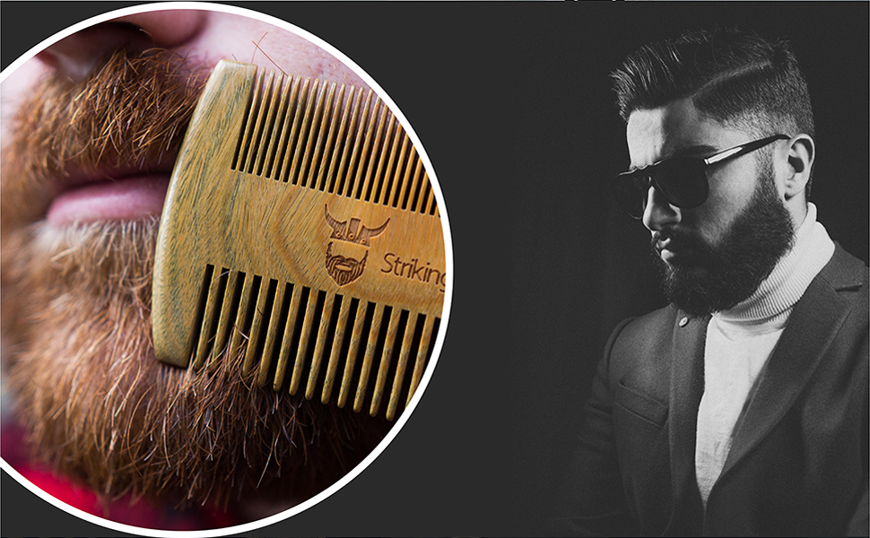 mens beard combs striking viking