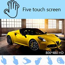 Capacitive muti-touchscreen