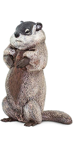 rodent, figurine, garden, safari, nature