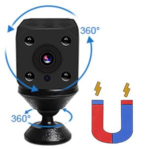 Cámaras espía, PiAEK 1080P HD Cámaras de vigilancia, Mini WiFi Cámara Oculta con Detector de Movimiento y IR Visión Nocturna