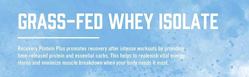 BioSteel Recovery Grass-Fed Whey