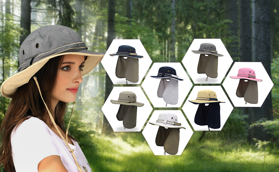 360 Degree Solar Protection Sun Hat