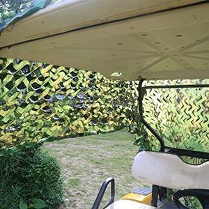 Golf Cart Sun Shade Cover