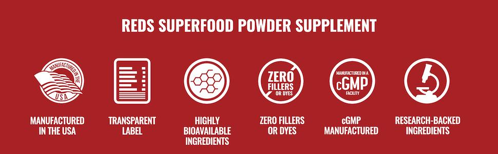 Redsurge - Reds Superfood Powder Supplement
