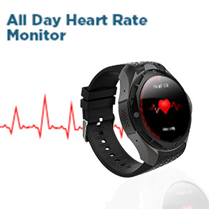 heart rate monitor by smart watch phone
