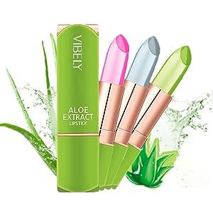 Lipstick for women Nutritious Lip Balm Moisturizer Crystal Jelly Lipstick Magic Mood Lipstick
