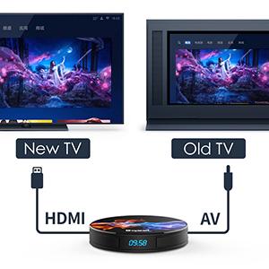 Última 9.0 TV Box 【4GB RAM+128GB ROM】 Bqeel Android TV Box RK3318 Quad-Core 64bit Cortex-A53 Soporte 2k*4K, WiFi 2.4G/5G,BT 4.0 , USB 3.0 Smart TV Box: Amazon.es: Electrónica