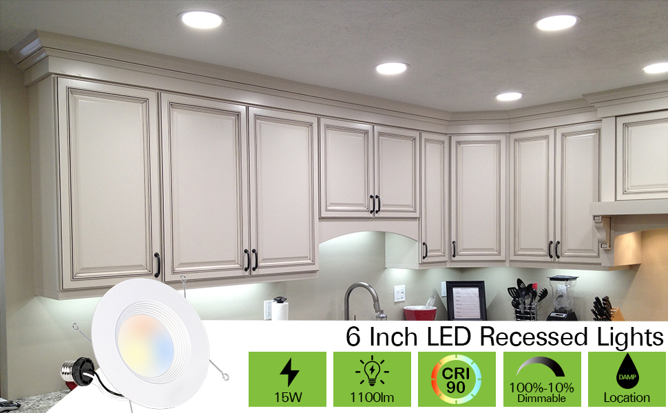 6 INCH LED RECESSED LIGHTS