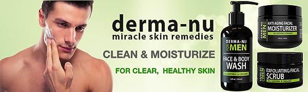 Derma Nu Mens Skin Care Kit