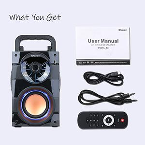 Shinco bluetooth speaker