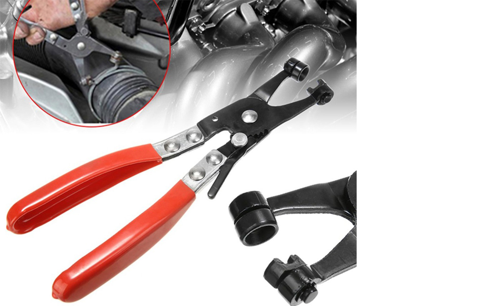 Easy Removal Of Flat-type Or Ring-type Hose Clamps.