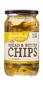 Pickerfresh Bread amp; Butter Chips