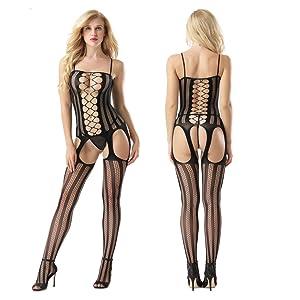 fishnet lingerie for women