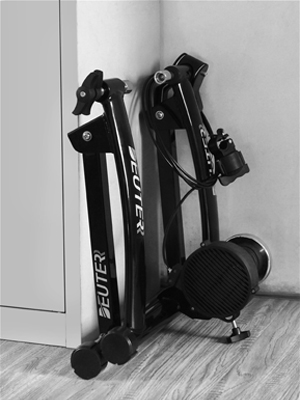 Bike Trainer, Magnetic Bicycle Stationary Stand for Indoor Exercise Riding, Portable