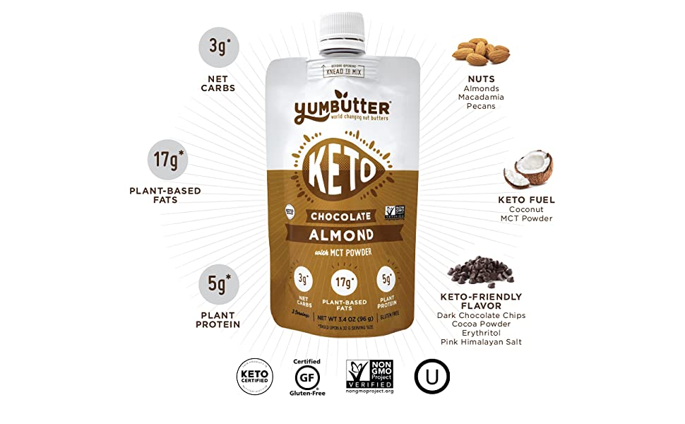 Keto Nut Butter, Chocolate Almond, Keto Snacks, Low Carb Food, Keto Fat Bomb, Keto Products