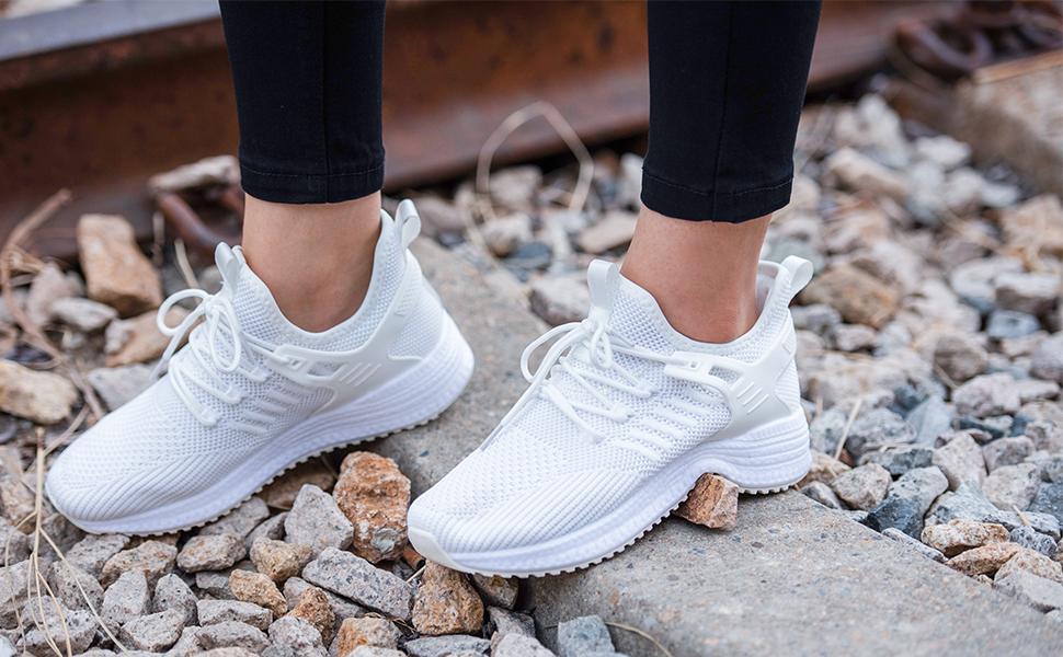shoes womens go walk slip on shoes for women memory foam womens slip on fashion lightweight sneakers