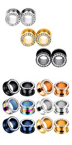 stainless steel crystal gauges