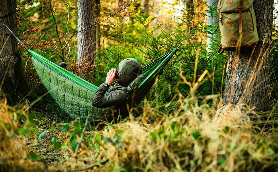 camping hammock underquilt 4 season